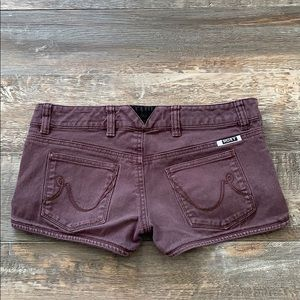ROXY brown shorts size 1